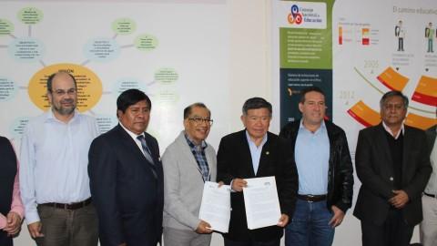 Asamblea Nacional de Gobiernos Regionales y CNE suscriben acuerdo para fortalecer la gestión descentralizada en educación