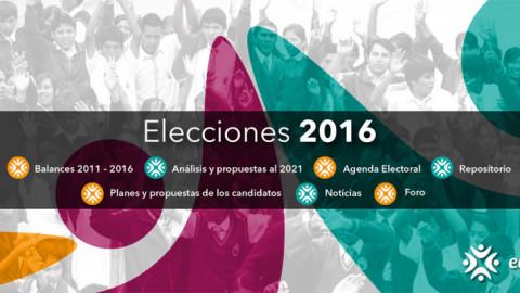 Elecciones 2016 Edugestores