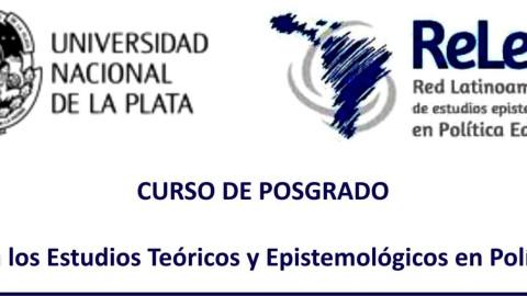 Curso de posgrado:  Introducción a los Estudios Teóricos y Epistemológicos en Política Educativa