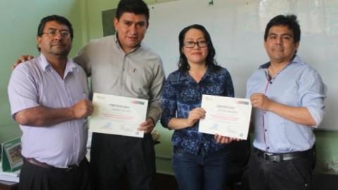 MINEDU y Universidad Antonio Ruiz Montoya entregan certificados a funcionarios de la UGEL Lamas