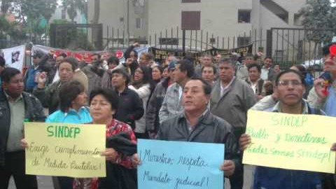 Archivan la sentencia Acción Popular N°6140-2014 interpuesta por el sindicato de directivos de Lambayeque