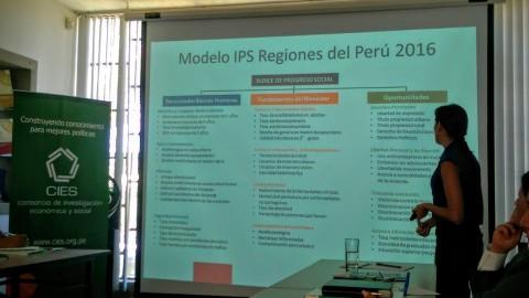 Conversatorio CIES: Última estimación progreso en regiones del Perú