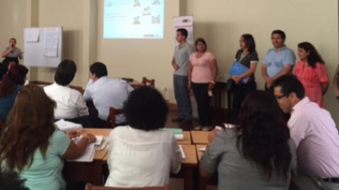 Proyecto FORGE apoya el desarrollo de la herramienta de Compromisos de Desempeño y participa en los talleres con funcionarios de DRE y UGEL para mejorar el desempeño de la gestión educativa