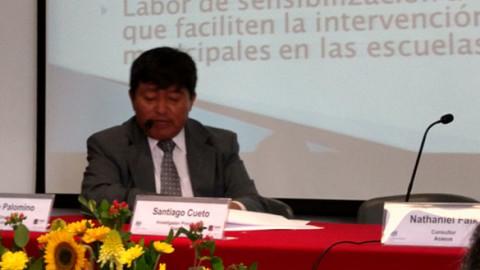 Seguimiento a la gestión escolar en la Región Lima-Región: la experiencia de relacionamiento intergubernamental de educación regional-local (RIERL).