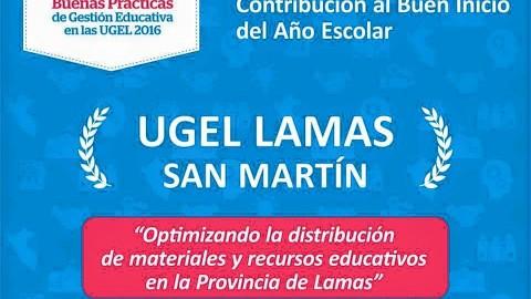 """Resultados de las UGEL ganadoras del I Concurso """"20 En Gestión"""" Reconocimiento a las Buenas Prácticas de Gestión Educativa en las Unidades de Gestión Educativa Local"""