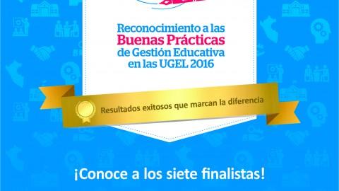 """Conoce a los finalistas del concurso """"20 en gestión"""""""