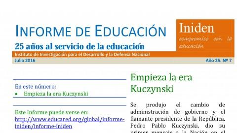 Análisis del mensaje presidencial por el experto Hugo Díaz: Empieza la era Kuczynski