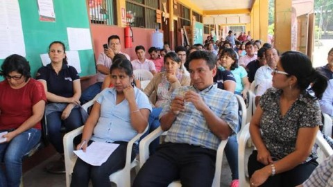 Directora de la UGEL Lamas presenta tres ejes de trabajo para su gestión