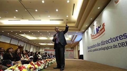 MINEDU: Ministro Saavedra insta a nuevos directivos de UGEL y DRE a trabajar para impulsar reforma educativa –