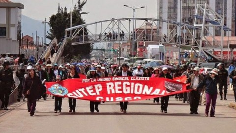 Minedu declara improcedente huelga indefinida convocada por Pedro Castillo