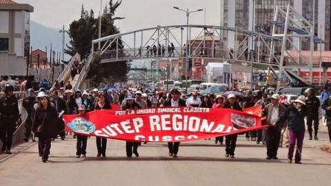 ¿Posible huelga?: Se rompe diálogo entre Minedu y Sutep