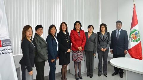 Lima: nuevos Directores de UGEL asumen cargos
