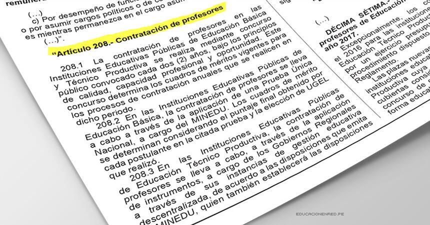 104545-minedu-contrato-docente-2017-ds-011-2016-minedu-que-modifica-articulos