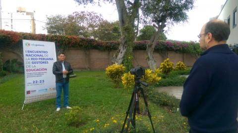 Edugestores entrevistas del Primer Encuentro Nacional