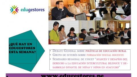 Esta semana en Edugestores (del 24 al 30 de octubre)