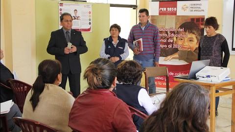 Arequipa: GREA presenta la actualización del Proyecto Educativo de la región al 2030