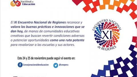 """CNE organiza el XI Encuentro Nacional de Regiones  """"La escuela como centro del sistema educativo"""""""