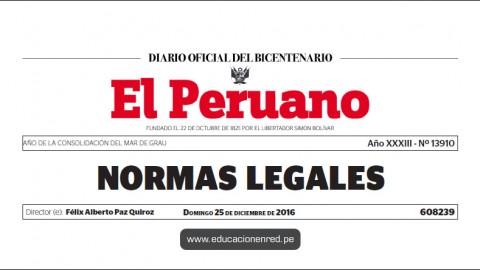 R. S. N° 054-2016-MINEDU – Designan Viceministra de Gestión Pedagógica (Liliana Miranda Molina)