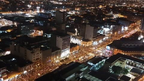 Miles de peruanos marcharon en defensa de educación de calidad