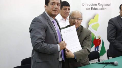 Cajamarca: GRC designa a Wilson Baca como director regional de Educación
