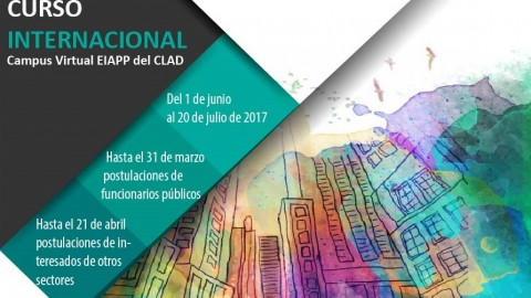 """Curso Internacional """"Ciudad, Gobierno Local y Gobernanza Democrática para el Desarrollo Sostenible en Iberoamérica"""""""