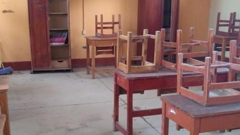 Cerca de 28 mil escolares estudian en aulas temporales