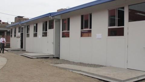 Ayacucho: DRE iniciará investigación sobre alquiler de aulas prefabricadas
