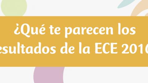 Resultados de encuesta de Edugestores: ¿Qué opinas de los resultados de la ECE 2016?