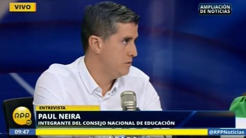 Paul Neira: ECE 2016 confirma que hay una deuda pendiente con la educación secundaria