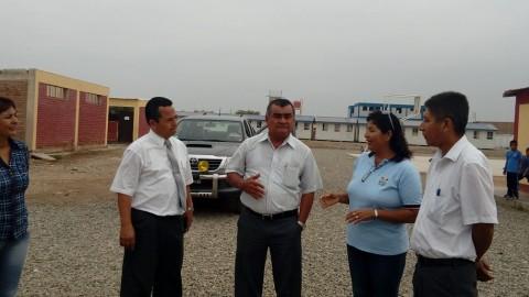 Lambayeque: Gerencia Regional de Educación visita locales escolares