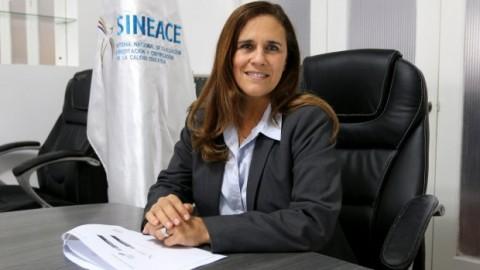 Carolina Barrios es la nueva presidenta del Sineace