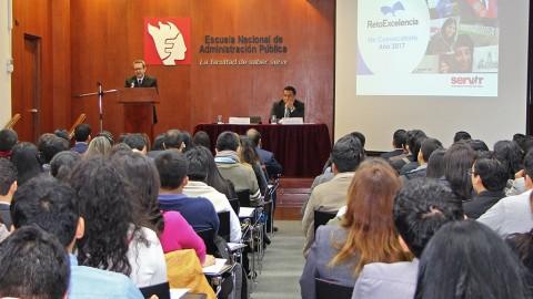 Servidores civiles podrán financiar estudios de maestría y doctorado vía Reto Excelencia