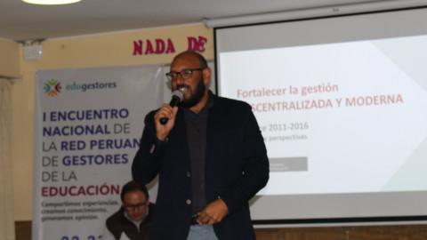 Memoria Primer Encuentro Nacional de la Red Peruana de Gestores de la Educación: Sobre una gestión descentralizada y moderna