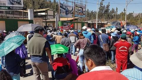 Apurímac: maestros del Sutep radicalizan acciones en Andahuaylas