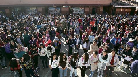 Las tres opciones que se evalúan para recuperar las clases perdidas en Cusco
