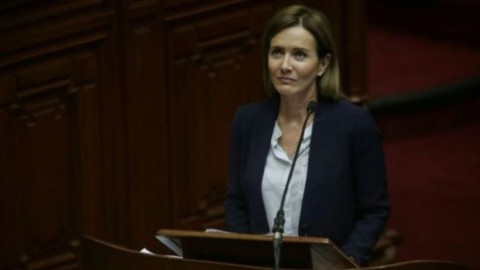 Fuerza Popular presentará moción de censura contra ministra Marilú Martens
