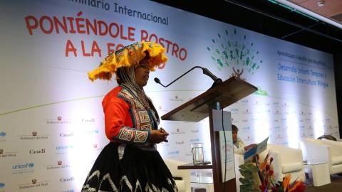 """Unicef realizó seminario """"Poniéndole rostro a la equidad"""""""