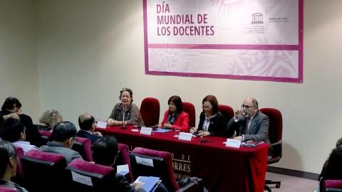 Unesco: diálogo por el Día Mundial de los Docentes