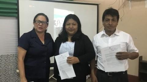 Ucayali: reconocen labor de docente de zona rural por lograr primer puesto en ECE