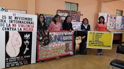 Lambayeque: escuelas ganadoras en concurso sobre no violencia a la mujer