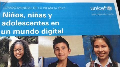 Estado Mundial de la Infancia 2017: Niños y niñas en el mundo digital