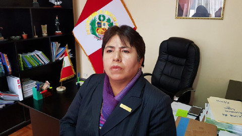 DRE Junín tiene nueva directora