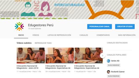 II Encuentro Nacional de Edugestores: exposiciones online