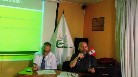 """Foro Educativo: conversatorio """"Indicadores, presupuesto educativo y corrupción""""."""
