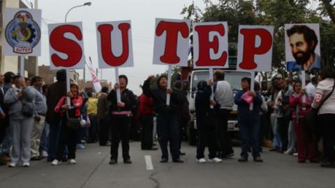 Sutep reanudará negociaciones con Minedu este martes 10 de abril