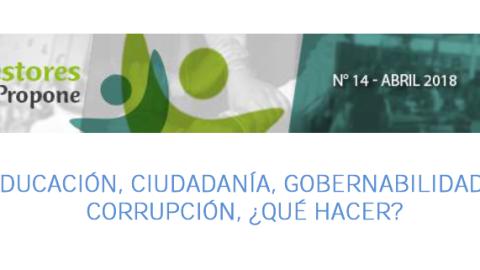 Edugestores Propone 14: Educación, ciudadanía, gobernabilidad y corrupción, ¿qué hacer?