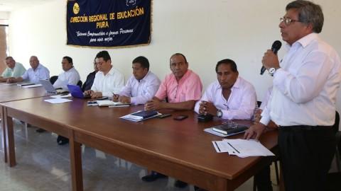 Piura: DRE articula esfuerzos con gobiernos locales para mejorar aprendizajes