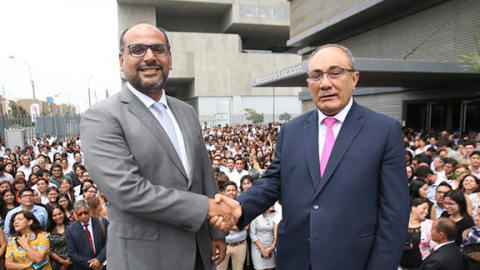 """Daniel Alfaro: """"Habrá continuidad en política educativa"""""""