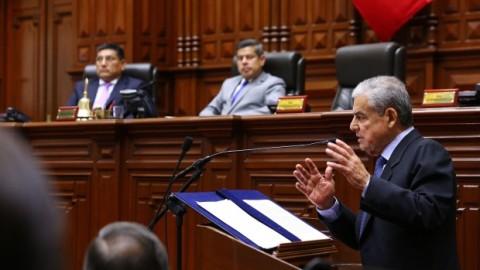 Premier Villanueva ante el Congreso: ¿Qué dijo en su discurso sobre educación?