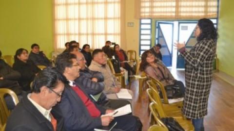 Puno: Especialistas de DRE deben implantar modelos educativos